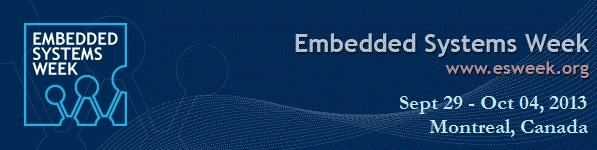 Embedded Systems Week 2013