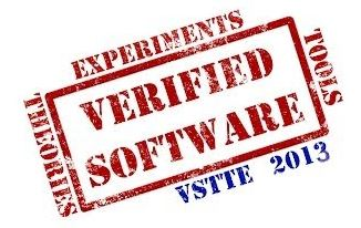 VSTTE 2013, Fifth Working Conference on Verified Software: Theories, Tools and Experiments